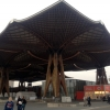 Größtes freitragendes Holzdach der Welt