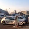 Nach der Fahrt ist vor der Fahrt: Der Opel Ampera an der Ladestation