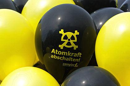 Schwarz-Gelb macht auf Luftballonantiatomkraft