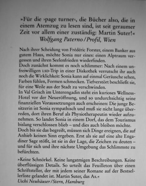 """""""Martin Suter, das As."""""""